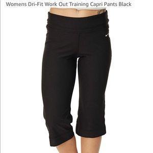 Nike Women Dri-Fit Workout Training Pants